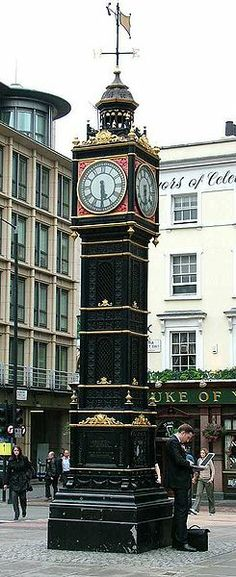 """""""Little Ben"""" It's only 6 metres high and tends to be unnoticed.  it is outside Victoria station, at the intersection of Vauxhall Bridge Road and Victoria Street, and was erected in 1892. Big Ben, its big brother, is to be found at the other end of Victoria Street, 15 minutes away."""