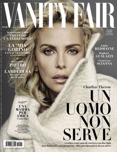 Charlize Theron by Alique for Vanity Fair Italia November 9th, 2016
