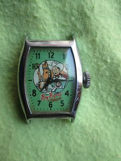 Roy Rogers Trigger Wrist Watch Vintage