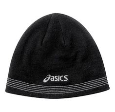 9e591dc6610 ASICS Reflective Knit Beanie Headwear Your Head