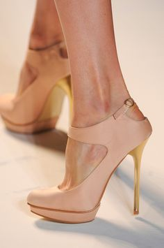 Lela Rose at New York Fashion Week Spring 2013 - Do not know where to purchase these shoes.