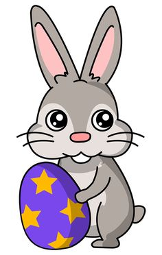 Easter Bunny Clip Art Black And White Free 2