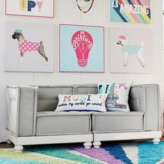 PB Teen Cushy Loveseat Set, Furlicious (2 Corners) at Pottery Barn... ($869) ❤ liked on Polyvore featuring home, furniture, sofas, modular sofa, black love seat, white love seat, black furniture and pbteen