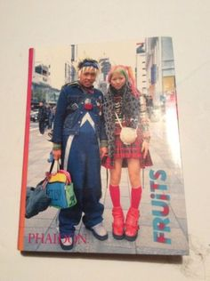 FRUITS Phaidon Japanese Street Fashion Photography Culture Photo Book | eBay