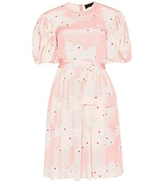 SIMONE ROCHA Printed Silk Dress. #simonerocha #cloth #dresses