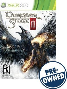 Dungeon Siege III — PRE-Owned - Xbox 360, PRE-OWNED GAME