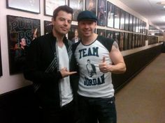 Jordan Knight & Donnie Wahlberg ~New Kids on the Block~