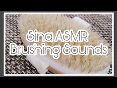 ASMR Intense Sounds - No Talking - Triggers ~ Sounds for Sleep ~Brushing Sounds - Bürste Schlaf - YouTube  #asmr #asmrsounds #latex #gloves #chalk #brush #oil #tapping #scratching #notalking #newvideo #intensesound #intense #sound #fasttapping #asmrtapping