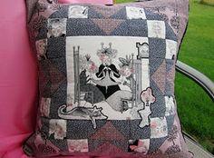 Ghastlies pillow from Ms. Wendy Ghastlie.