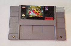 The Timeless Adventures of Mickey Mania SNES Super Nintendo Video Game Cartridge