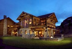 Architects In Montana - Project: Ski Chalet 2 Montana USA - Exterior