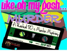 '80s Murder Mystery Game | My Mystery Party