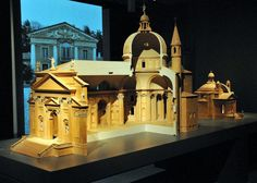 Chiesa del Santissimo Redentore, Andrea Palladio, contemporary architectural model.