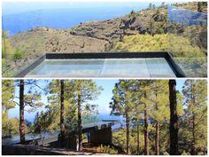 Puntagorda estrena hoy su mirador 'suspendido' sobre el barranco de Izcagua