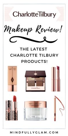 CHARLOTTE TILBURY Get Ready With Me & Charlotte Tilbury Products Review | Charlotte Tilbury Makeup | Charlotte Tilbury Looks #CharlotteTilbury #Makeup #MakeupLooks #RedLipstick #PillowTalk #CharlottesCream #HotLips #CharlotteTilburyTutorial #ProductReviews #MakeupReview #LuxuryEyeshadow #WonderGlowPrimer