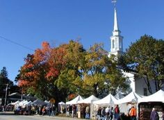 Scituate Art Festival. I try to go every year on Columbus Day weekend, usually with Mom.