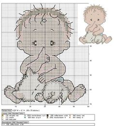 Baby with kitten X-stitch Cross Stitch For Kids, Cross Stitch Baby, Counted Cross Stitch Patterns, Cross Stitch Charts, Cross Stitch Designs, Beaded Cross Stitch, Cross Stitch Embroidery, Canvas Template, Cross Stitch Numbers