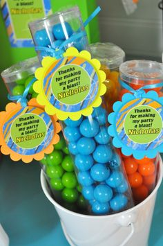 Nerf Party Favor Tags, Nerf Wars Birthday Party Favor Tags, Laser Tag Birthday Party Favors, Thank You Tags - Set of 12 by sosweetpartyshop on Etsy https://www.etsy.com/listing/443462349/nerf-party-favor-tags-nerf-wars-birthday