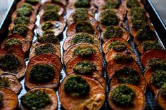 NYT Cooking: Roasted Sweet Potatoes With Horseradish Butter