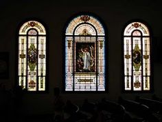 First Christian Church in Milton-Freewater, Oregon stained-glass church windows.  I've loved these windows since my childhood.