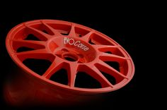 "SanremoCorse 17"" Red - EVO Corse Racing Wheels - Its structure is primarily designed to resist heavy loads while maintaining the necessary lightness. The rim contour allows the installation of the largest brake calipers, up to the WRC measures, while the design of the lips facilitates the mounting of hard tires. #evocorse #racing #wheels #color #red #sanremocorse #rally #tarmac #madeinitaly #italy #the best"