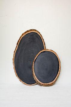 OLIVE MANNA | Barkboard Rustic Chalkboard