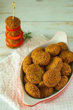 Falafel, Healthy Recipes, Healthy Food, Bacon, Food And Drink, Menu, Breakfast, Foods, Homemade Food