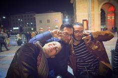 We are just Beautiful ☺️✌️ #afterwork #colleagues @antonysax #Leo #Marta #just #beautiful  #friend #rocknroll #PiazzaXXVAprile #milan #city #beers #i_lovephoto #photo #photoadditc #finishwork #socialnetwork #pinterest #swarm #tumblr #twitter #instagram #likes #kiss #hashtag #good #followme #mypageispublic #follow4follow