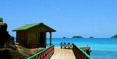 Peaceful San Andres island
