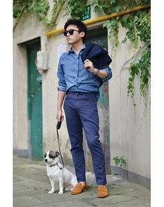 INDIGO GUYS | SS 15 | Street Style SHANGAI | The blues.