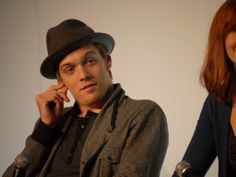 "Luke Vetti/Jake Abel actor hunt --- pic 3 // this is so Luke's, like, ""...Seriously?"" face"