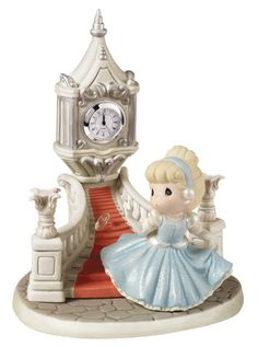 Disney Precious Moments Cinderella Even Miracles Take A Little Time Limited Edition 153015 Limited of Michigan 1.0 - #preciousmoments #disneyprincess #cinderella