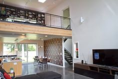 Green Concept Home - Architizer. Love the open concept