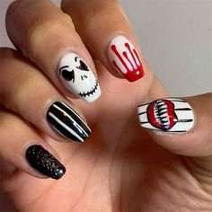 Halloween Nail Art, Scary Halloween, Scary Dolls, Nail Art Designs, Fancy, Instagram Posts, Nail Designs, Spooky Halloween, Nail Art