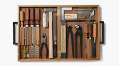 The Ultimate Gentleman's Tool Kit. Not available at Home Depot.