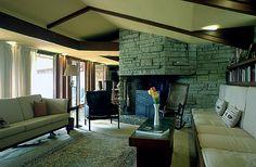 E. Clarke and Julia Arnold House. Columbus Wisconsin. Frank Lloyd Wright Usonian. 1955-6