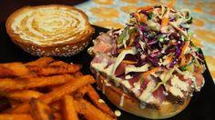 Asian Ahhhhhi Burger | awinkandapinch