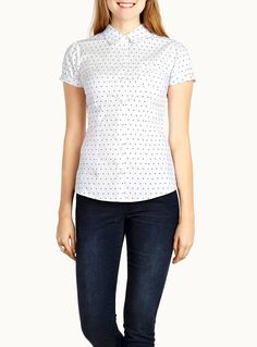Shop Women's Sleeveless Shirts, Blouses & Tops in Canada Peter Pan Collar Blouse, Sleeveless Shirt, Summer Looks, Blouse Designs, Polka Dot Top, Blouses For Women, Chic, My Style, Casual