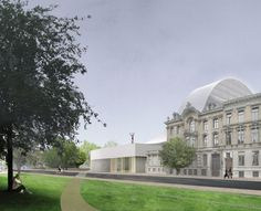 Antwerp Province Hall Proposal / SO – IL