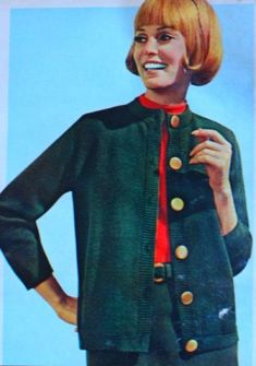 1967- A classic 1960s Cardigan never goes out of fashion