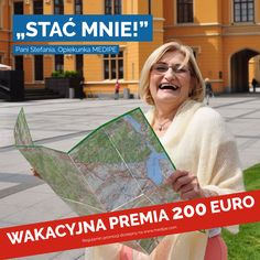 Wakacyjna premia dla Opiekunek od MEDIPE - 200€! 71 377 88 88, rekrutacja@medipe.com
