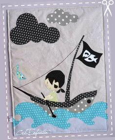 Plaid Pirate - Créenfantin