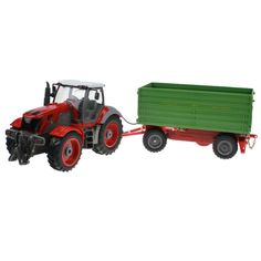 RC Car 6 Channel 4 Wheel Truck Remote Control Simulation Farm Tractor With Dumper. Click visit to buy #RemoteControl #Car