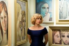 """Amy Adams vintage look in the movie """"Big eyes"""" is a trend for this season. Check the designers that can inspire you to dress like her! Colleen Atwood, Vanessa Redgrave, Big Eyes Movie, I Movie, Amy Adams, Margaret Kane, Big Eyes 2014, Netflix Movie List, Tim Burton Films"""