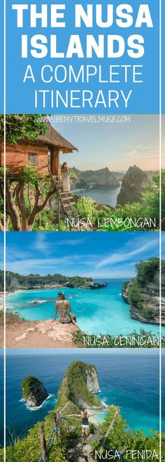 The ultimate guide to your trip in the Nusa Islands, right next to Bali, Indonesia! A full itinerary that will help plan your trip, with all the best spots to see & go, accommodation and transportation tips! See the best of Nusa Lembongan, Nusa Ceningan, and Nusa Penida.