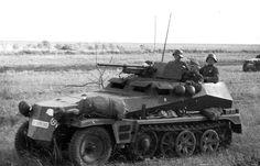 A vehicle of the Grossdeutschland Division. Sd.Kfz. 250/10 Ausf. A (3,7 cm PaK) leichte Schützenpanzerwagen