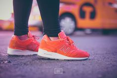 """Concepts x New Balance 997 """"Luxury Goods"""" at time square NYC"""