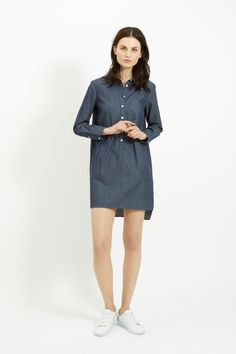 Comfortable shirt/dress from People Tree.
