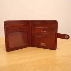 Real leather wallet  Montana Calf  Made in England  by UKAmobile