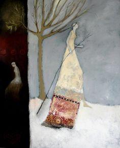 Mother Winter III  by Jeanie Tomanek